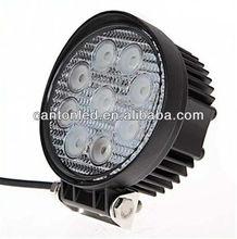 27W 6000K 9-LED HYPER WHITE FOG WORK LIGHTS LAMP OFFROAD 4WD TRUCK JEEP BOAT VAN