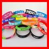 Custom cheap silicone bracelet/ rubber bracelet/ silicone wristband