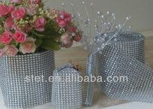 2013 Cake decorations diamond mesh wrap roll sparkle rhinestone ribbon