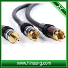 gold plated 3.5mm cable RCA cable de audio a usb