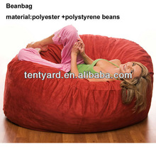 Red popular and fashionable giant beanbags