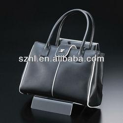 Custom acrylic handbag display stand acrylic bag display