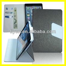 Oracle Bones Retro Folio Leather Case for iPad mini Magnetic Smart Flip Wallet cover cases for Apple iPad mini new Royal Green