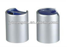 aluminum silver brilliant disc top cap 24/415