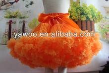 halloween costumes wholesale baby girl dance tutu fluffy pettiskirt with ruffles dress fluffy chiffon event fall pettiskirts