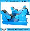 self-aligning welding roller bed
