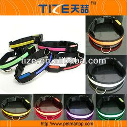 Hot selling dog products TZ-PET1036 stock nylon dog collar