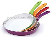 Aluminum nonstick omelet pan ceramic fry pan cookware griddle skillet