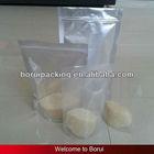 clear plastic pouch bag,food packaging aluminium foil bag with zipper