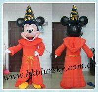 bs2013 popular high feedback fiber glass mickey and minnie mascot costumes