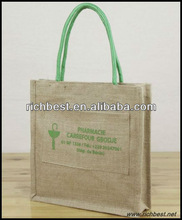 waterproof plain jute tote bags wholesale