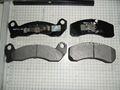 De alta qualidade semi-metais / cerâmica disco pastilhas de freio D199 para Ford Lincoln Mercury