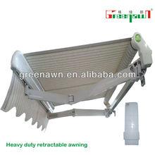aluminum porch/curtain awning/garden awning