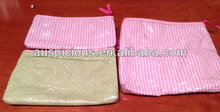 PVC Gift Bag with Inserted Fabric