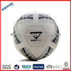 TPU/PU/PVC machine sewn laminated football soccer 5# with logo, PVC soccer ball/inflatable football/machine stitched football