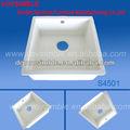 Kitchen sink e da pia de lavagem branco puro modificado material acrílico
