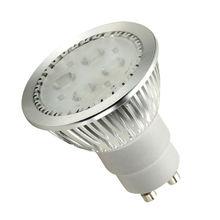 2013.09 New 220v gu10 spotlights,4pcs PHILIPS LEDS inside 220v gu10,cheap price Ra>80% 5W 420lm 220v gu10 spotlights