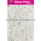Natural texture stone acrylic paint with water repellent for General Contractor