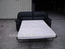 hotel pu leather sofa bed living room sofa set 3+2