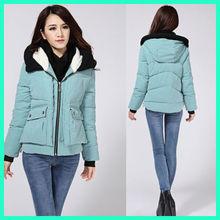 Eurpean fashion autumn winter women short military coat N0105