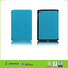 Factory wholesale slim-fit folio leather case for ipad mini, for iPad mini leather cover, For tablet pc leather case