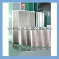 10-year experience producer of aluminium profile of radiador