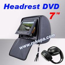 Discount car headrest dvd player 7inch
