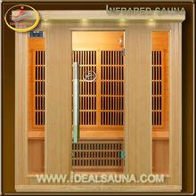 4 person infrared sauna set