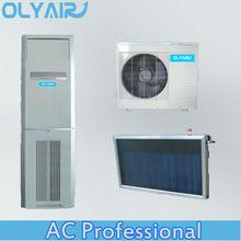 100% solar air conditioner with solar panel DC inverter 48V DC