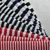 Hot sale 32S 100% Cotton Striped Fabric