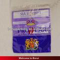 Claro opp/cpp saco do zipper para tecido/de roupa de plástico saco de vestuário saco