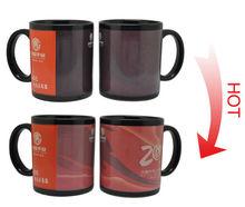 high quality porcelain black magic mug