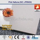 HIGH GLOSSY POLISHED PINK NATURE STONE FLOOR TILE SERIES