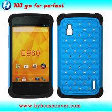 Factory price case cover for LG Google Nexus 4 E960