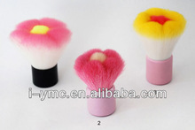 2013 best flower shape kabuki make up brush