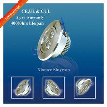 Epistar Cree Aluminum High Power 3W LED Downlight