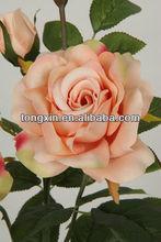 27009M high quality hot sale plastic flower rose flower handbag