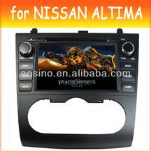 OEM car audio radio fit Nissan Altima Car DVD with bluetooth GPS navigation