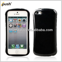Dual Layer Hybrid Protective Case with TPU Inner Case and Hard Outter For iPhone 5c