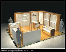 modern design Wood clothing display cabinet
