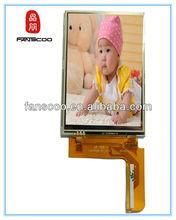 "7.0"" 480x800 inverter toshiba satellite video wall tft lcd display monitor camera testing machine lcm"