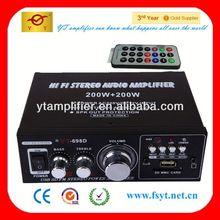 18 inch amp rack case YT-698D support TF/FM