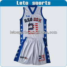 custom sublimation basketball uniform for women wholesale