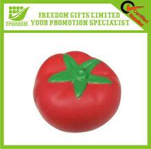 Tomato Shape Printed Logo Anti Stress Ball