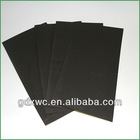 black color thin eva foam sheet