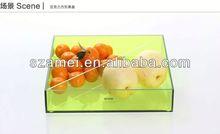 POP acrylic amenity box tray/acrylic tray/acrylic