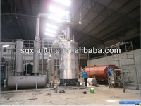 2013 low cost ,high quality 60tons crude oil refinery to diesel oil distillation equipment