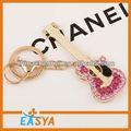 Más barato 2014 joyería de la cadena dominante, custom clave anillo, la novedad de la cadena dominante de corcho caliente clave de la cadena