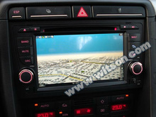 WITSON gps navigation disc FOR Audi S4 With 1080P HD Video Display