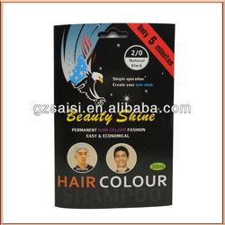 hair color chart shades sachet speedy hair color shampoo